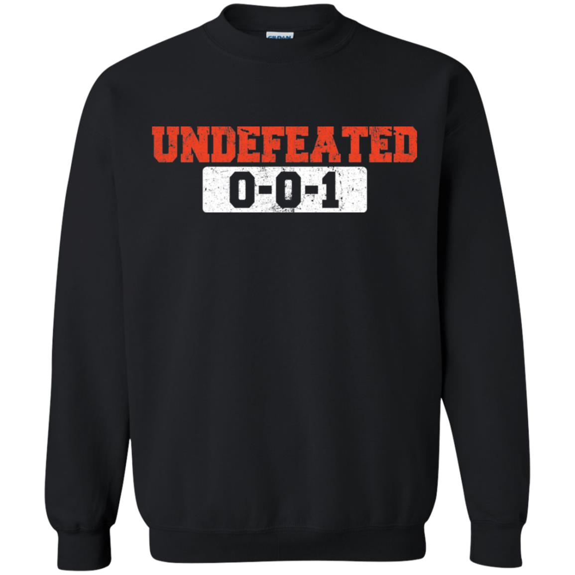 Undefeated 0-0-1