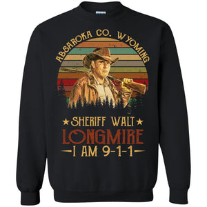 Absaroka County Wyoming Sheriff Walt Longmire I am 911