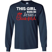 This Girl runs on Jesus & Chick Fil A