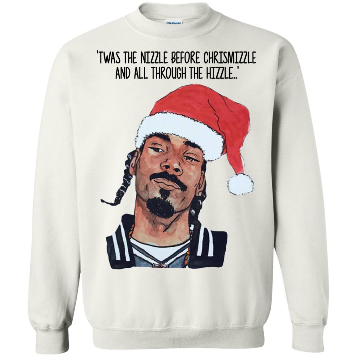 Snoop Dogg Twas the nizzle before Christmizzle