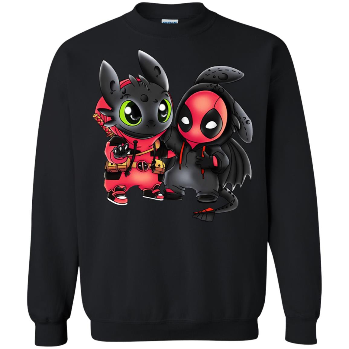 Toothless and Deadpool