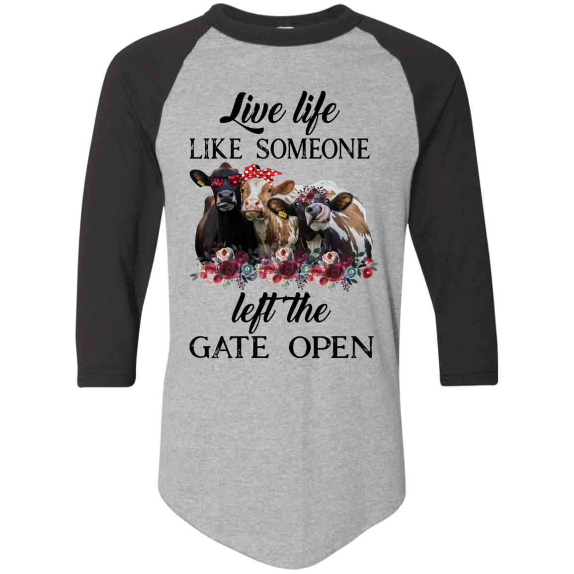 Cow Live life like someone left the gate open heifer