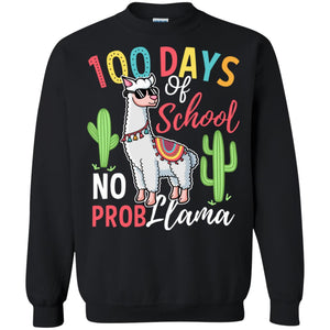 100 Days of School No Prob Llama