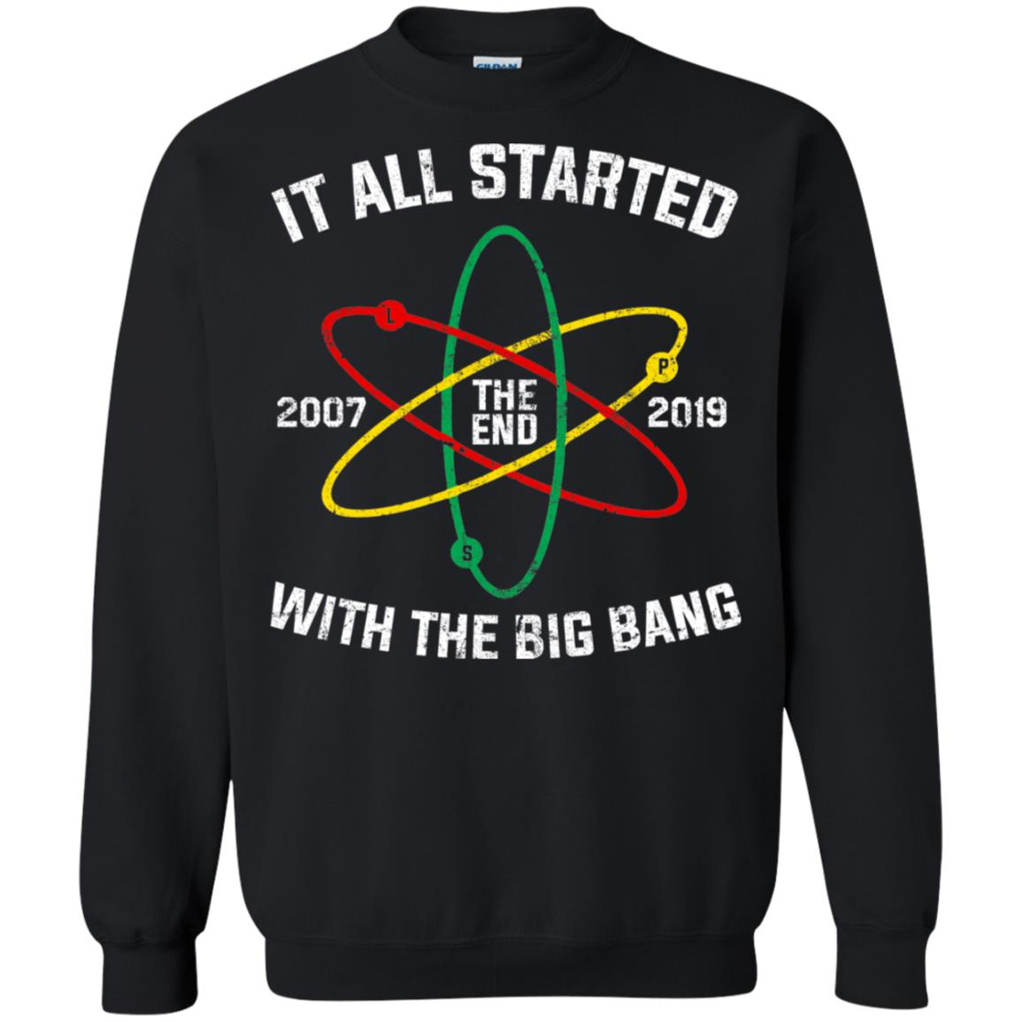 The End 2007 2019 it all started with the big bang