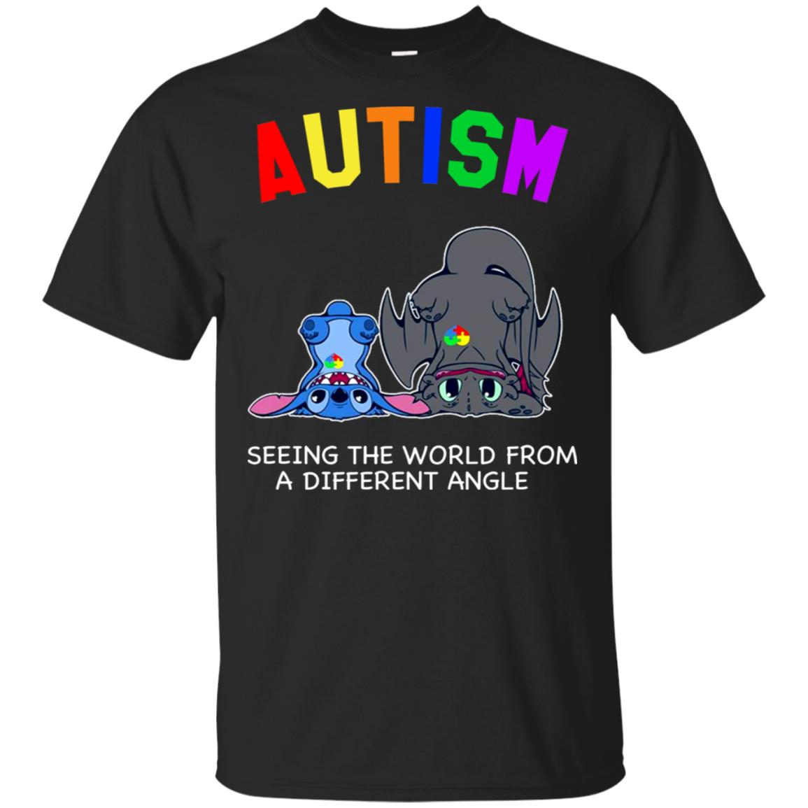Stitch Toothless Autism seeing the world from a different angle