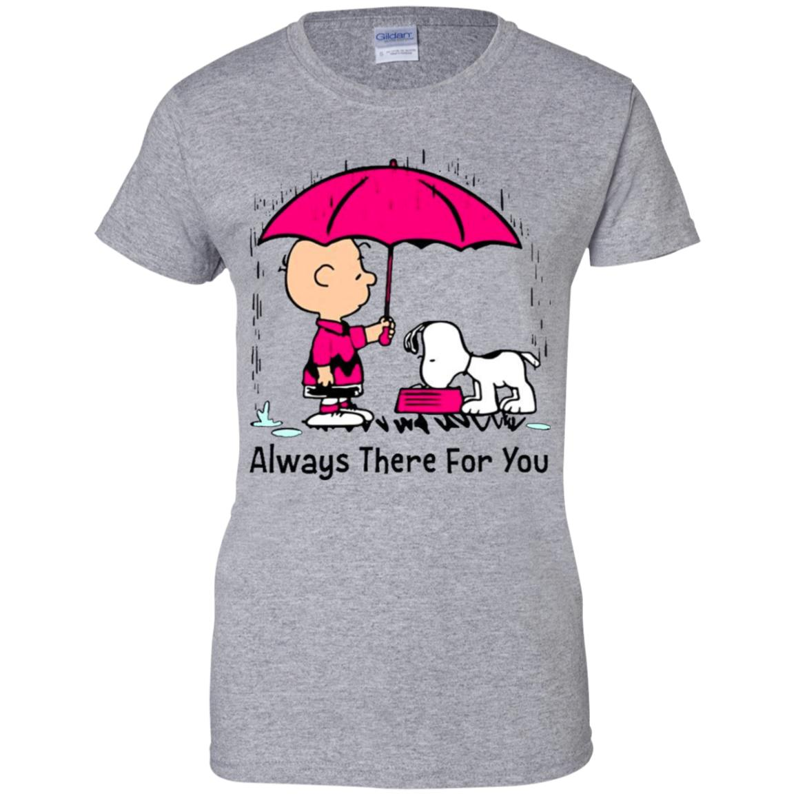 Snoopy and Charlie Brown always there for you