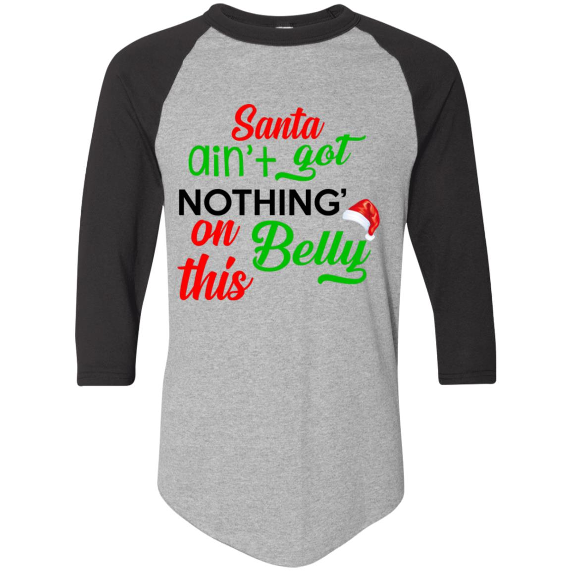 Santa ain't got nothin' on this belly