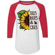 Sunflower tats naps and cats