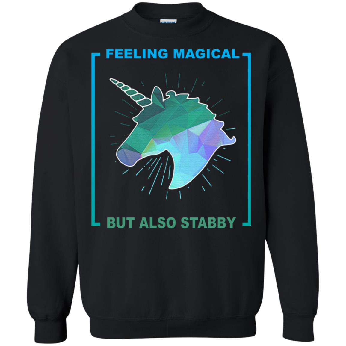Unicorn feeling magical but also stabby