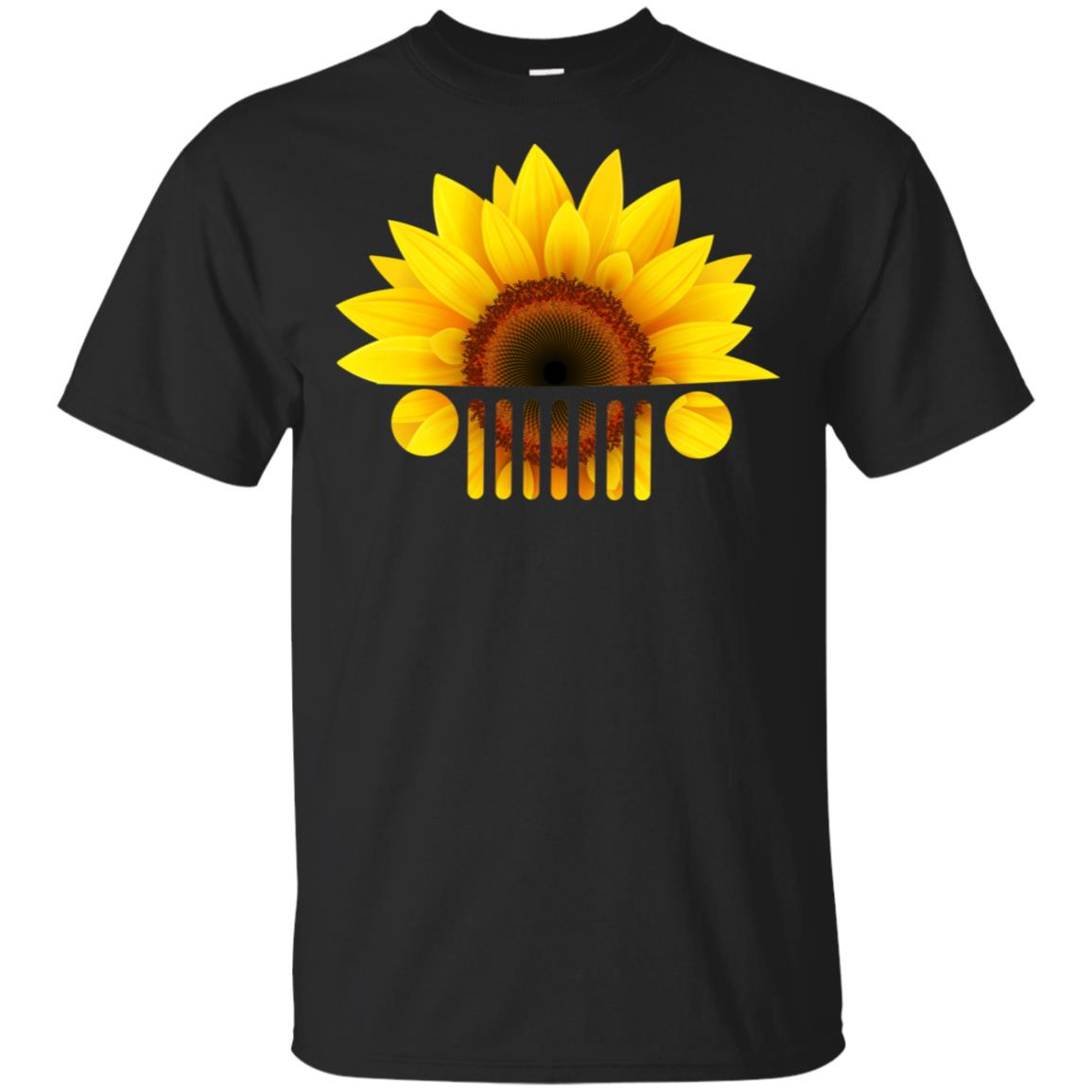 Sunflower Jeep