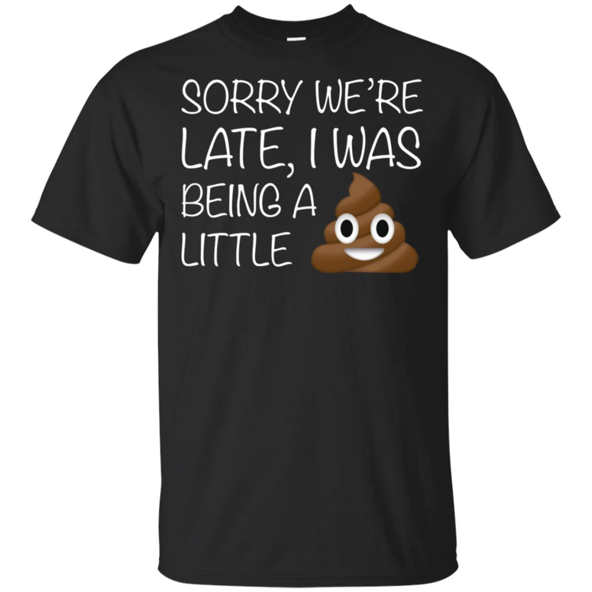 Sorry we're late I was being a little shit
