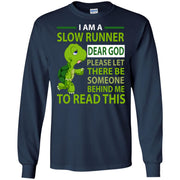 Turtle I am a slow runner dear god please let there be