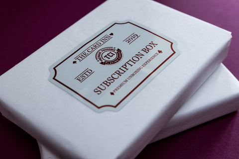 Playing Card Subscription Boxes - Cardistry & Luxury Decks - The Card Inn UK