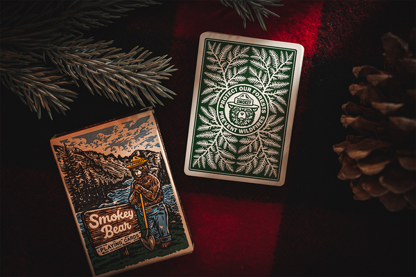 Smokey Bear Playing Cards  - Art of Play Decks at The Card Inn