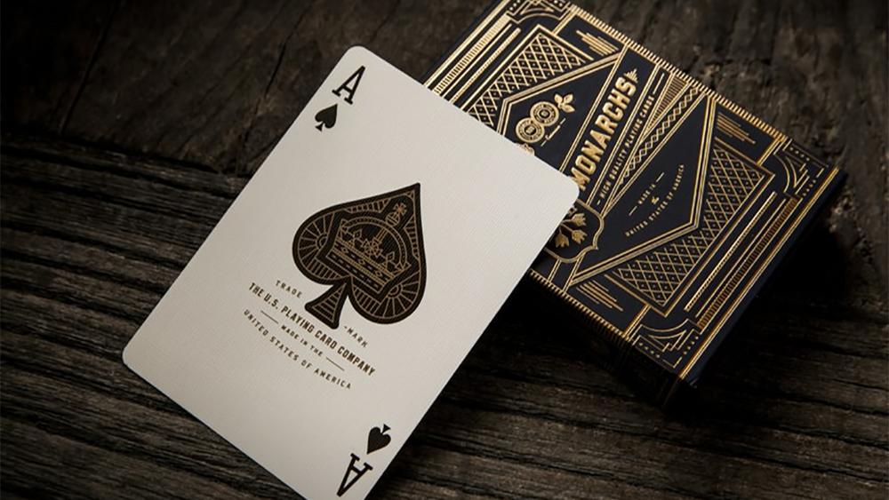 Blue Monarch Playing Cards by Theory 11 - The Card Inn UK