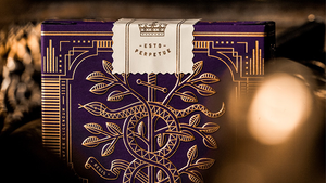 Monarchs Royal Edition (Purple) - Luxury Playing Cards at The Card Inn