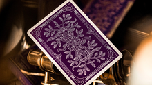 Load image into Gallery viewer, Monarchs Royal Edition (Purple) - Luxury Playing Cards at The Card Inn