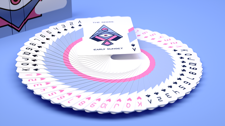 The Seers Aspectu V2 Playing Cards - Cardistry Decks at The Card Inn UK