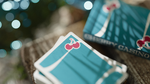 Cherry Casino Tropicana Teal Playing Cards - Casino Decks at The Card Inn
