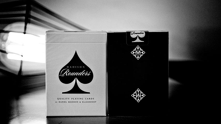 Madison Rounders Playing Cards (Black) - Daniel Madison Decks The Card Inn
