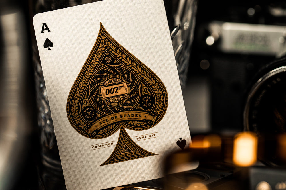 James Bond Playing Cards - Theory 11 Decks at The Card Inn UK