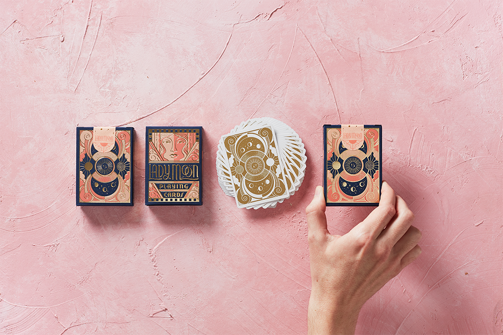 Ladymoon Playing Cards - Art of Play Decks at The Card Inn