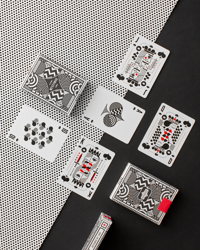 Messymod Playing Cards - Browse Art of Play Decks at The Card Inn
