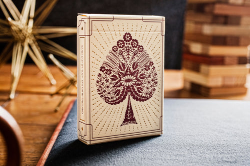 Papercuts Playing Cards by Suzy Taylor x Art of Play - The Card Inn