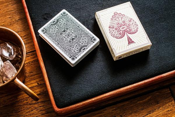 Papercuts Playing Cards - Art of Play Decks at The Card Inn