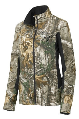 Women's Camo Softshell Jacket