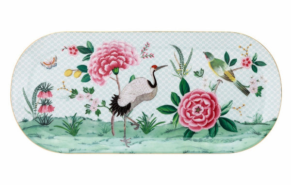 PiP Studio Blushing Birds Rectangle Cake Tray - White