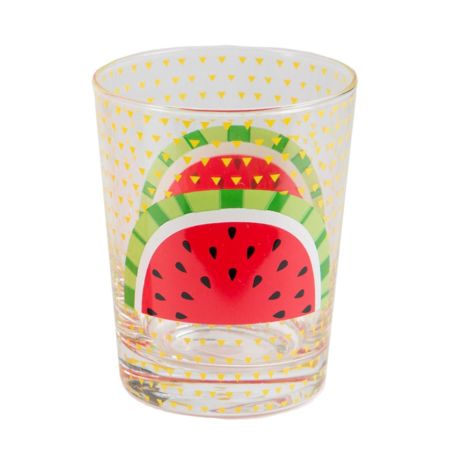 Sass & Belle Watermelon Glass Tumbler