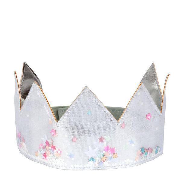 Meri Meri Silver Shaker Dress Up Crown