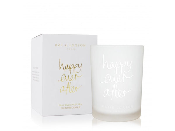 Katie Loxton Happy Ever After Candle - Pear & Sweet Pea