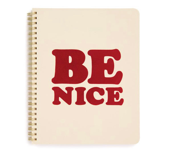 Ban.do Rough Draft Mini Notebook - Be Nice