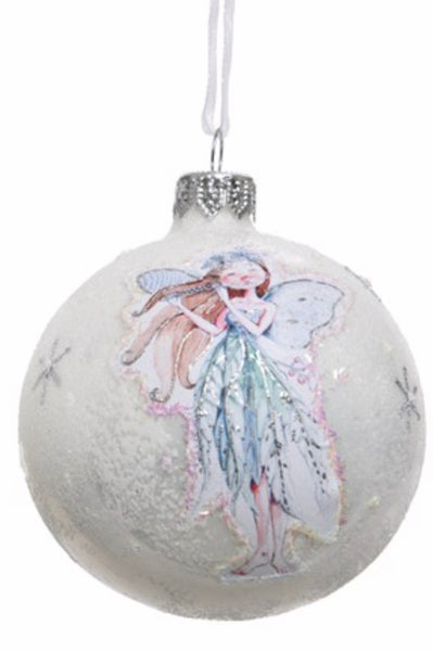 Blue Fairy Angel Bauble