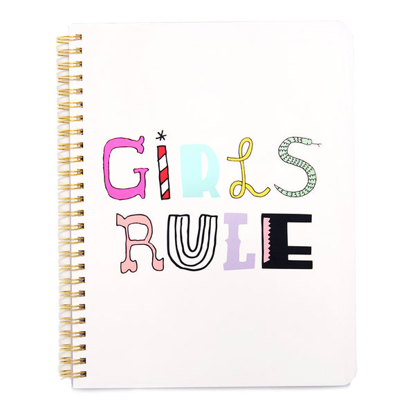 Ban.do Rough Draft Mini Notebook - Girls Rule