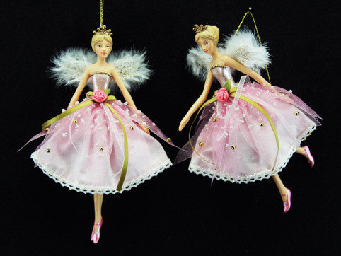 Pink Fairy Princess Christmas Tree Decoration - Large