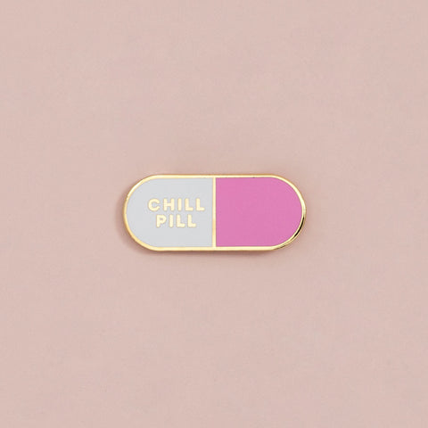 Ban.do Chill Pill Enamel Pin