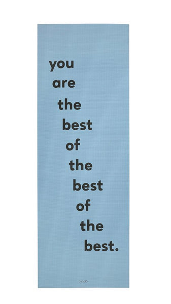 Ban.do Work It Out Exercise Mat - You Are The Best Of The Best