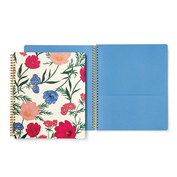 Kate Spade New York Large Spiral Notebook - Blossom