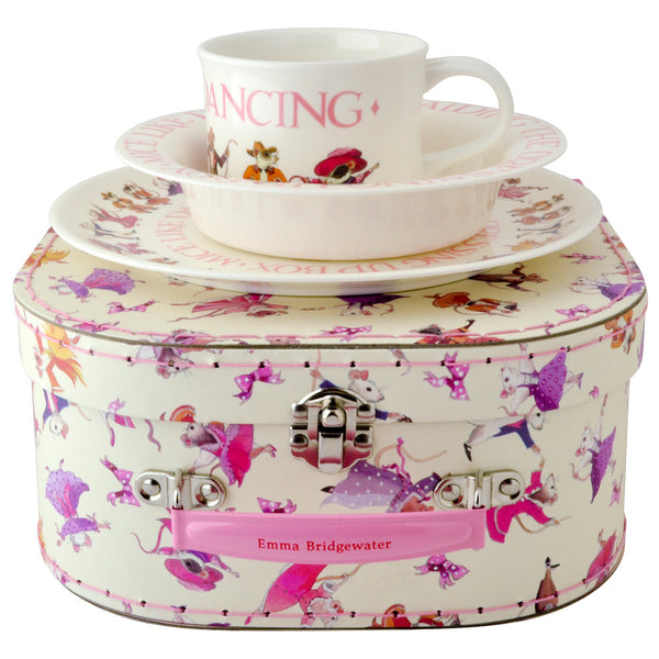 Emma Bridgewater Dancing Mice Melamine Dining Set
