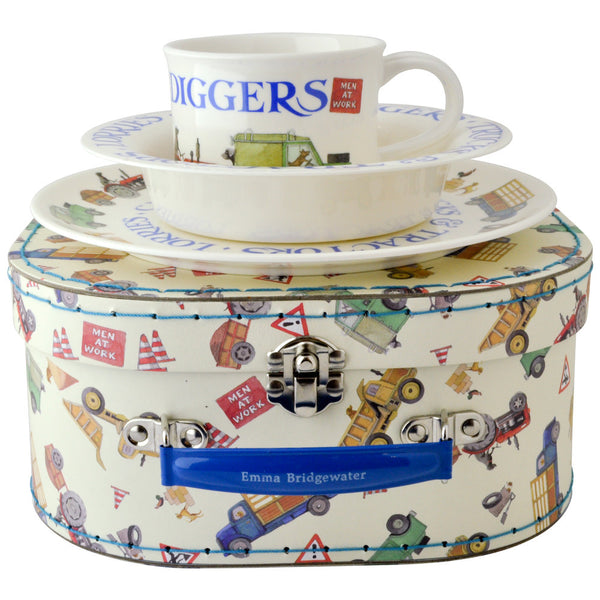 Emma Bridgewater Men At Work Melamine Dining Set