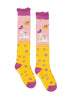 Powder Little Girl's Leaping Bunny Long Socks