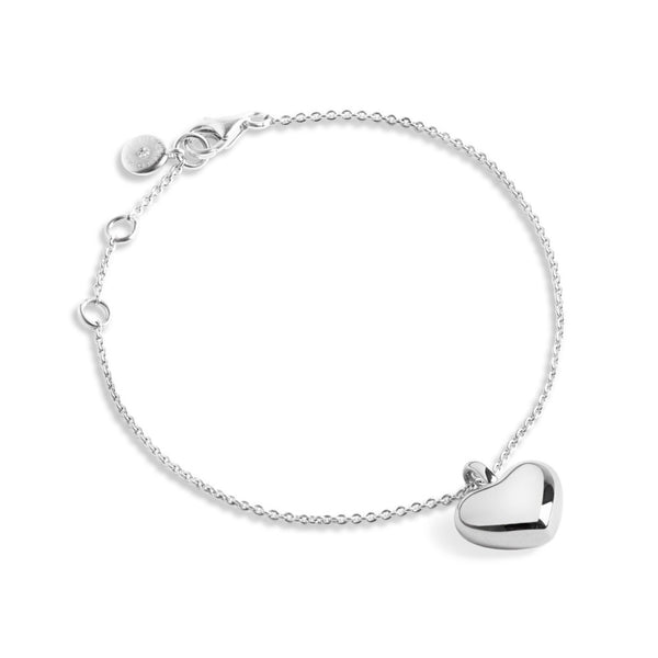 Forever Joma The True Collection Silver Heart Bracelet