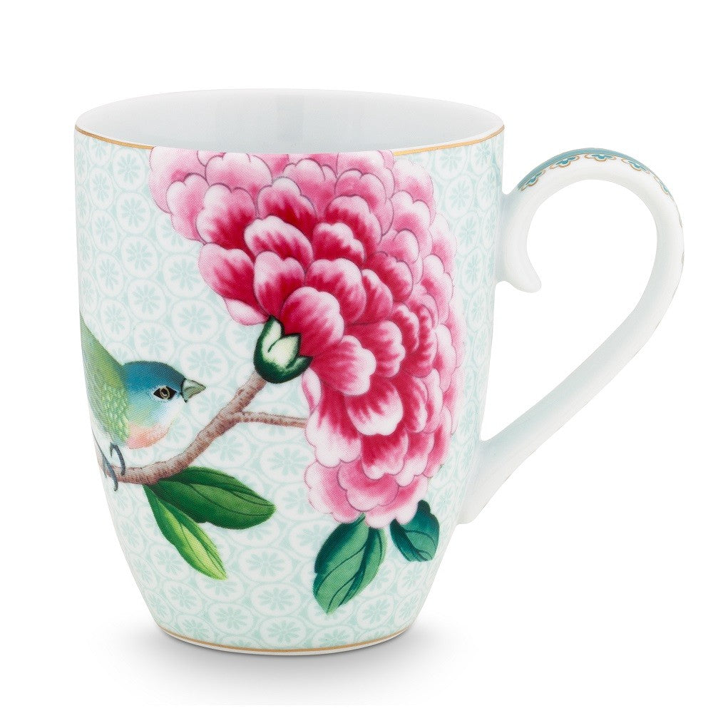 Pip Studio Blushing Birds Large Mug - White