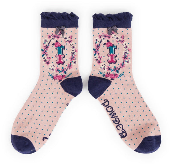 Powder A-Z Socks - I