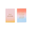Ban.do Compliment Card Set - Stay Golden/Your Future Looks Bright