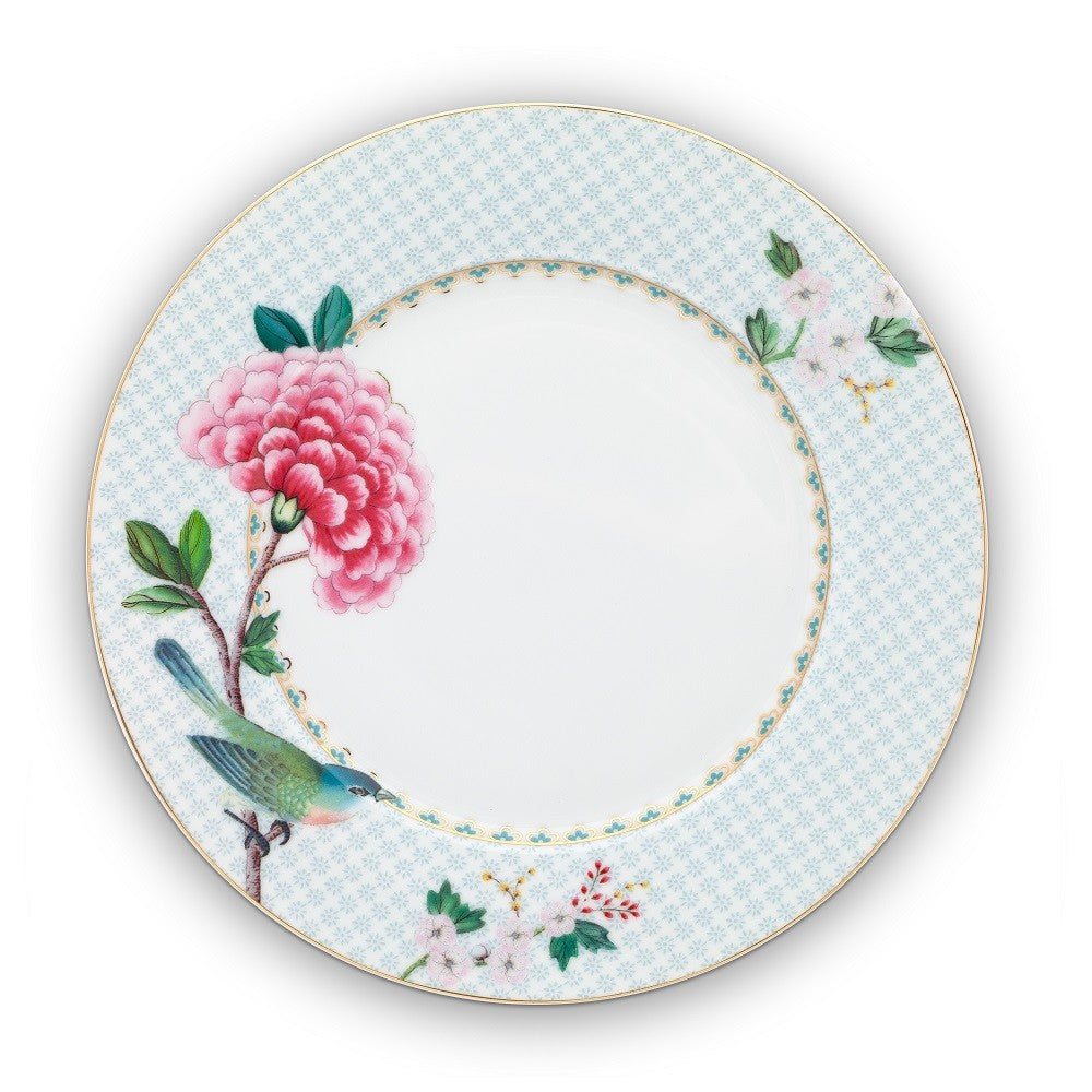 Pip Studio Blushing Birds 21cm Plate - White