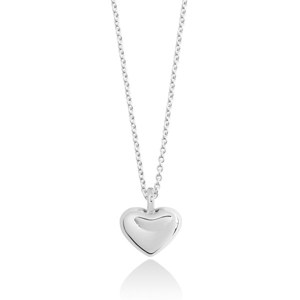 Forever Joma The True Collection Silver Heart Necklace